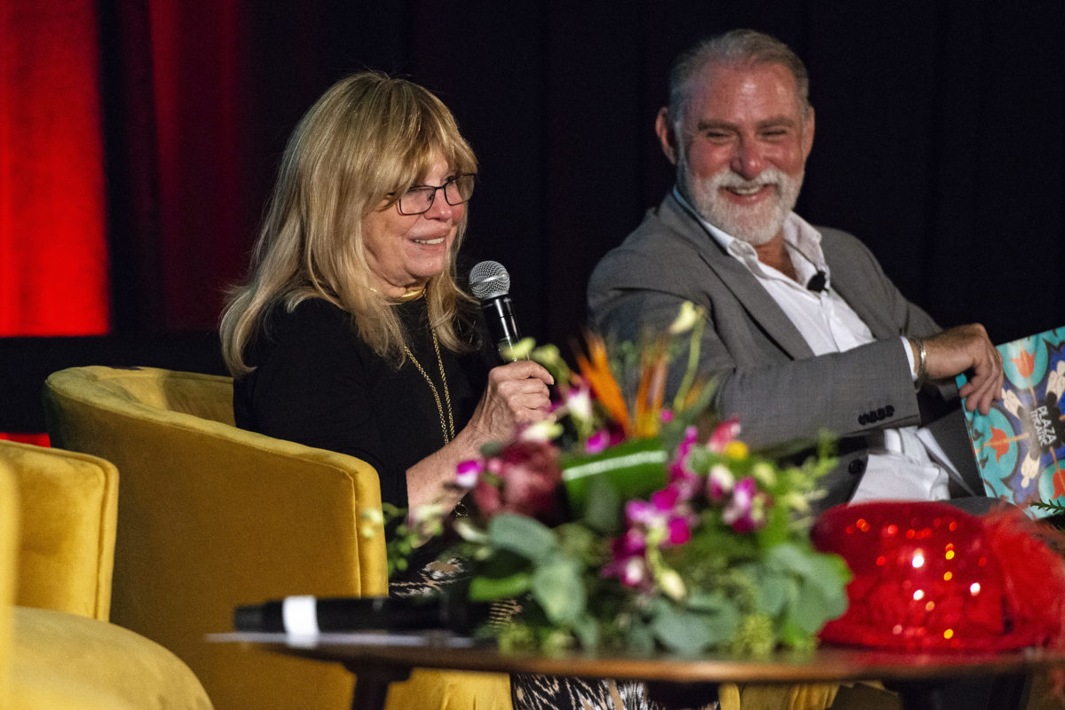 Nancy Sinatra and J.R. Roberts at the Plaza Theatre Palm Springs - 2/16/2020